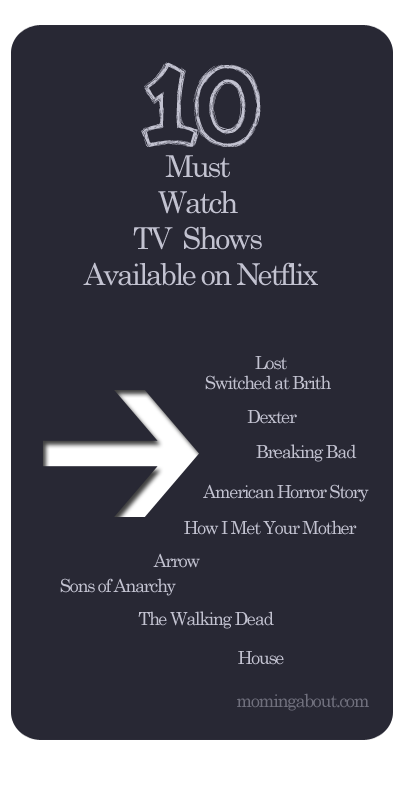 10 Must Watch Netflix Shows #netflix