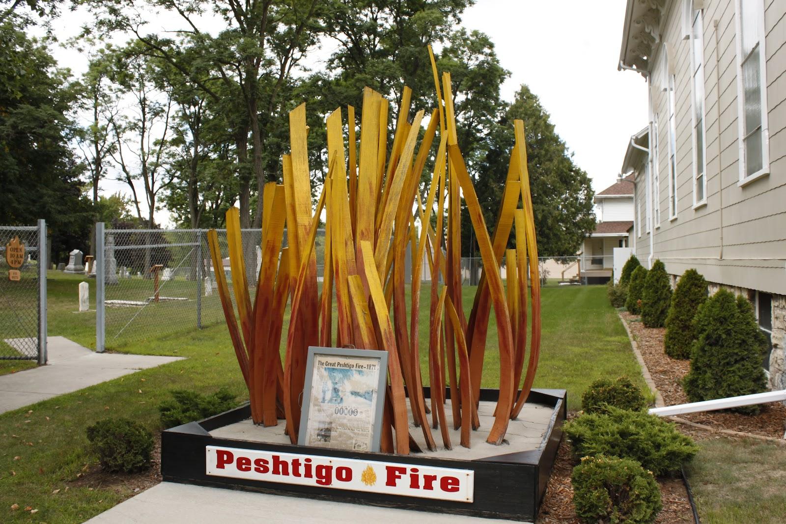 Wisconsin Historical Markers Peshtigo Fire Museum