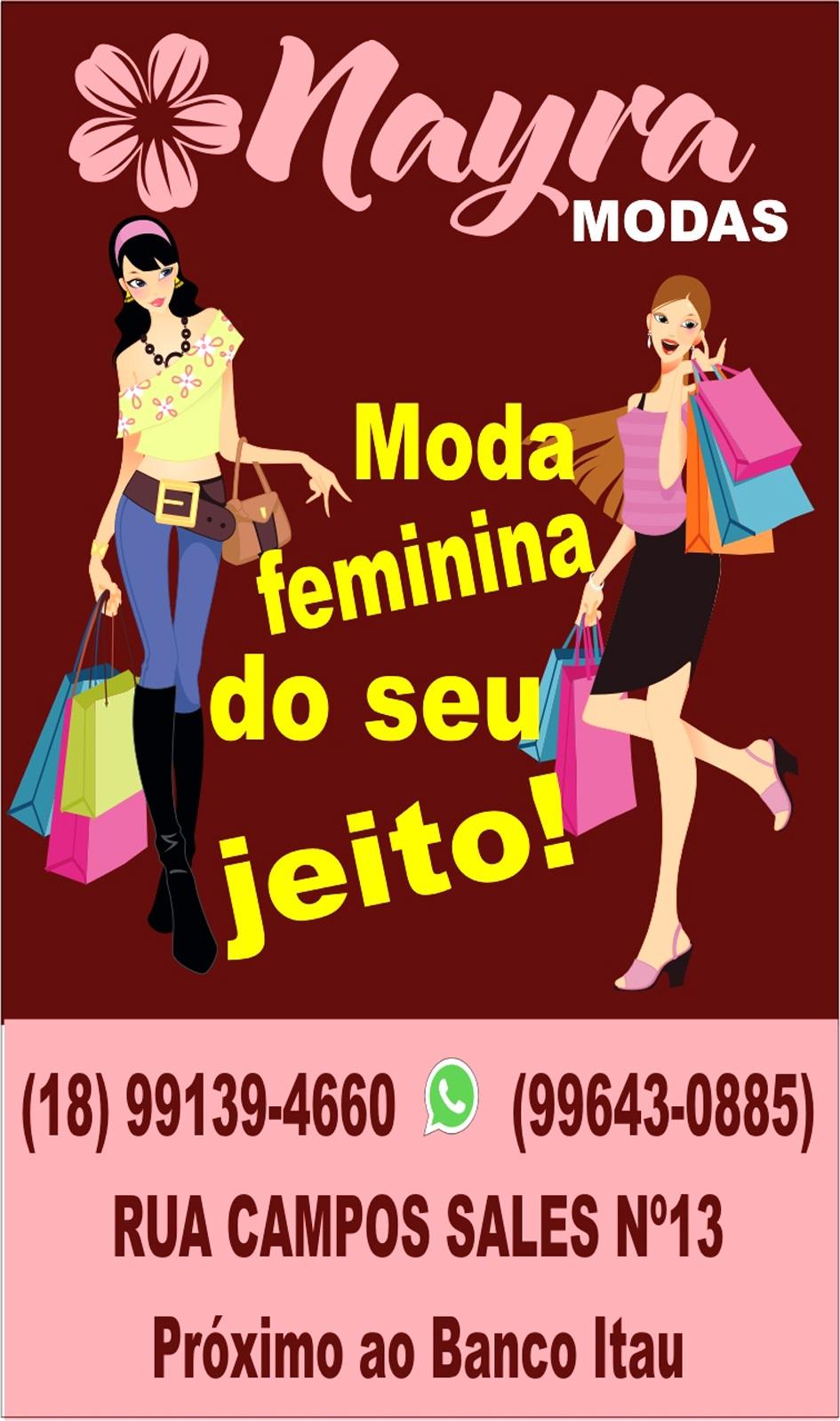 Nayra Modas - Moda Feminina