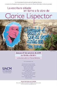 Conferencia sobre Clarice Lispector