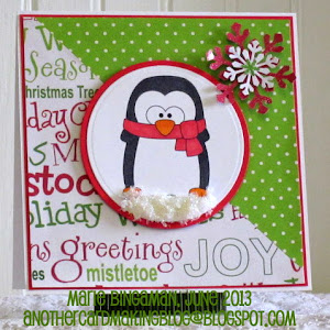 This card was a favorite at Christmas Stampin' All Year Long!