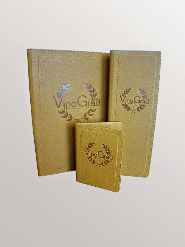ВИНОГРАД. Папка-меню, винная карта и счетница