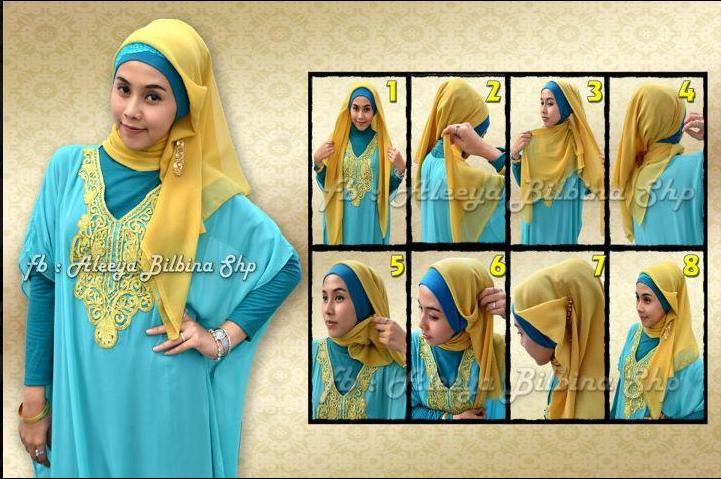 Cara Memakai Hijab Untuk Pesta | newhairstylesformen2014.com