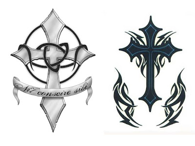 cross tattoos designs on Top Tattoos Pictures: Cross Tattoo Designs