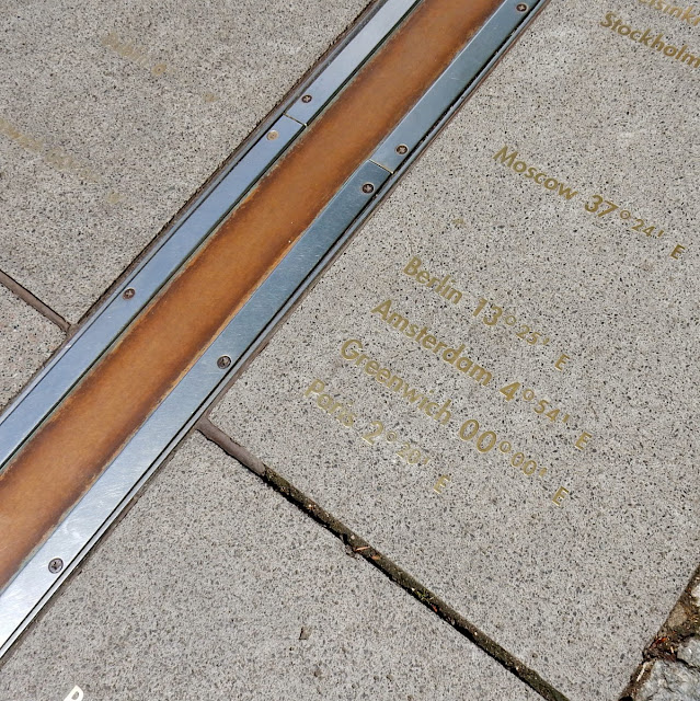 Greenwich Observatory Meridian Line London