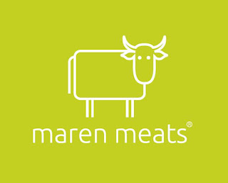 Maren Meats Logo Design For Butchers by LogoDesignLondon.co.uk