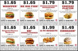 burger king printable coupons