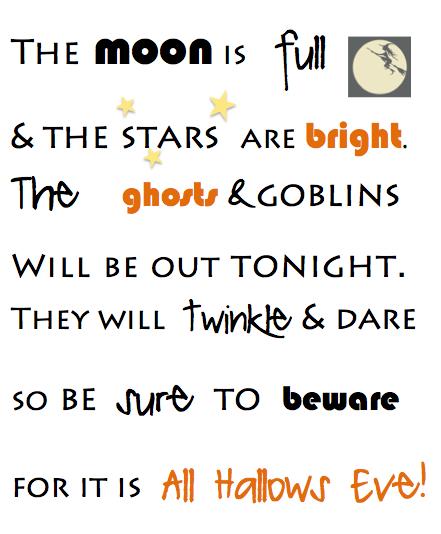 Halloween C.R.A.F.T. #4: Beware Printable {Halloween printable} - C.R.A.F.T.