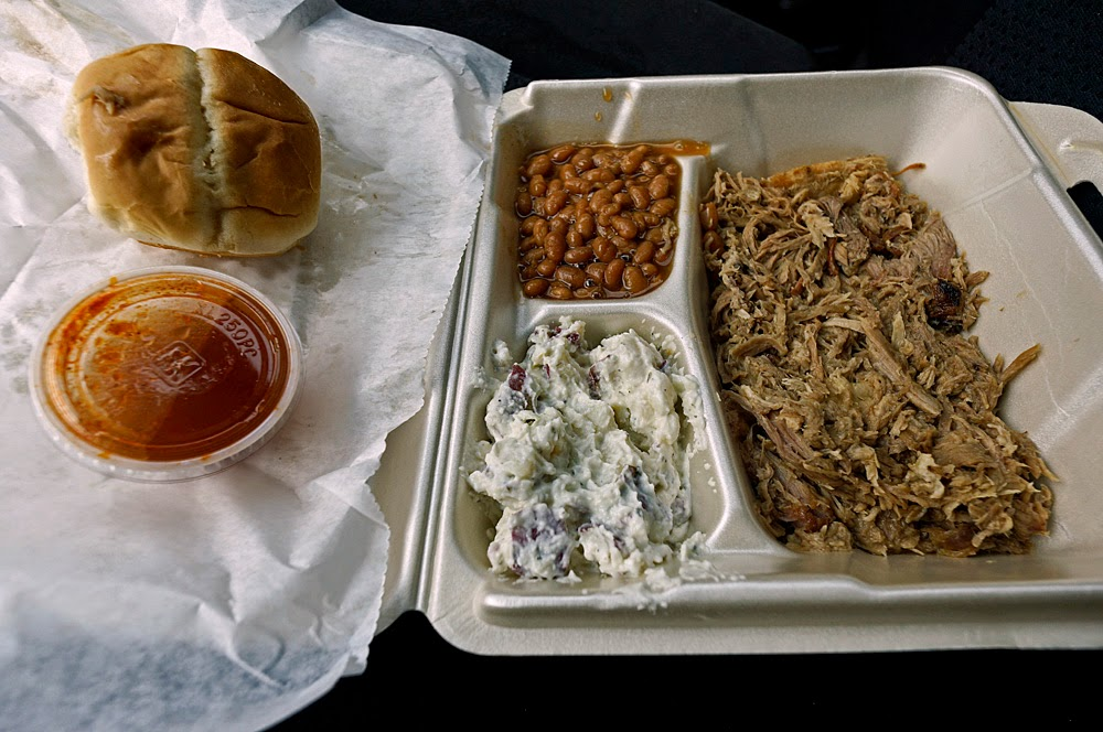 Nothing Special Here But The Meat Was Righteous Bbq Pork If Ever There Was Such A Thing All In All A Typical Southern Bbq Place Like The Name Says