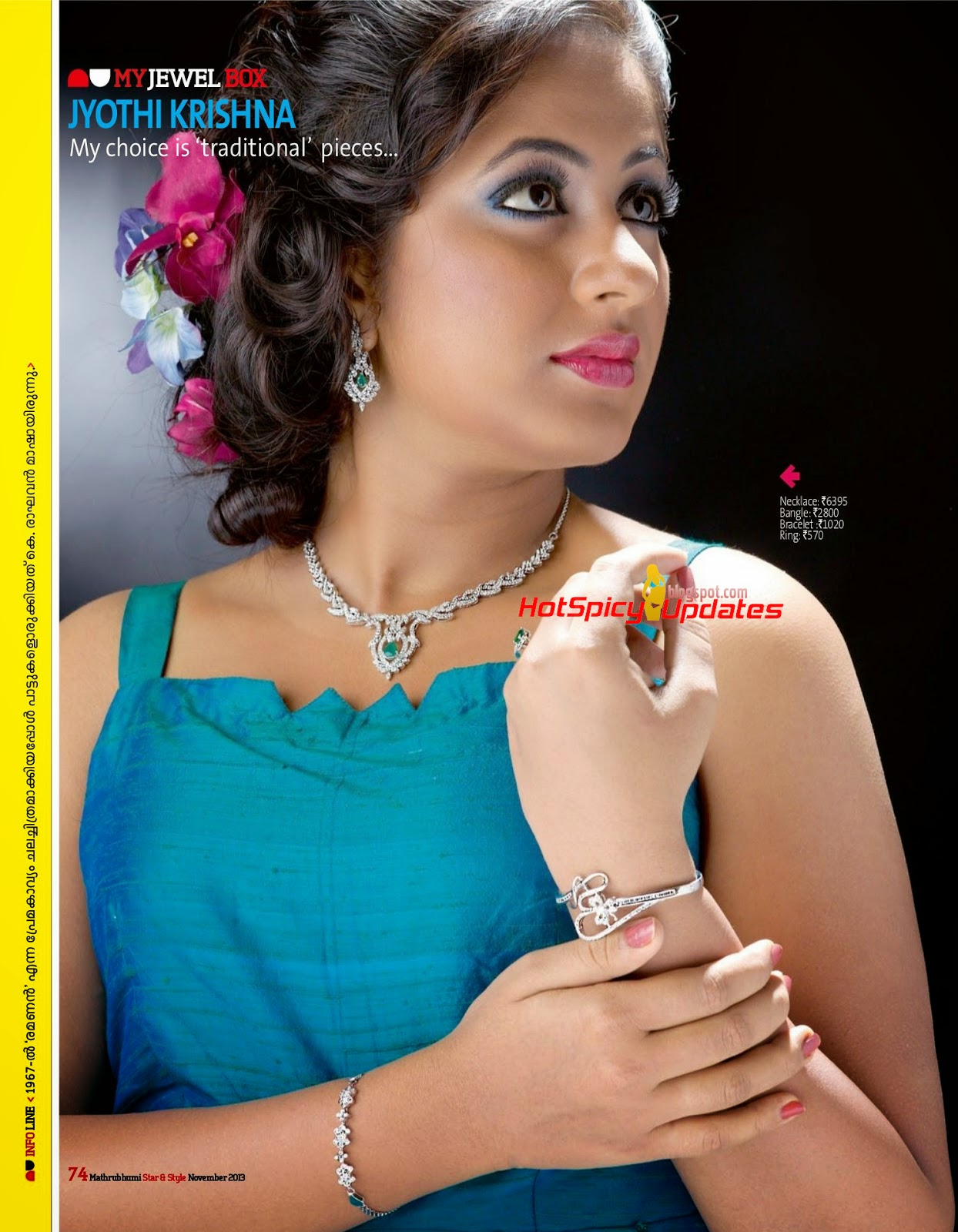 Jyothi Krishna Cute Scans from Star N Style Magazine November 2013 ... for Jyothi Krishna Malayalam Actress  5lpkxo