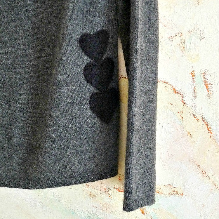 diy needle felted wool applique