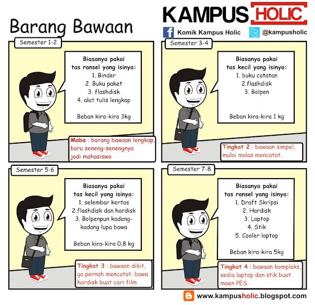 #035 Barang Bawaan mahasiswa