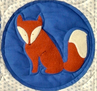 meags and me: Deep into the Woods Quilt Pattern.  Fox.