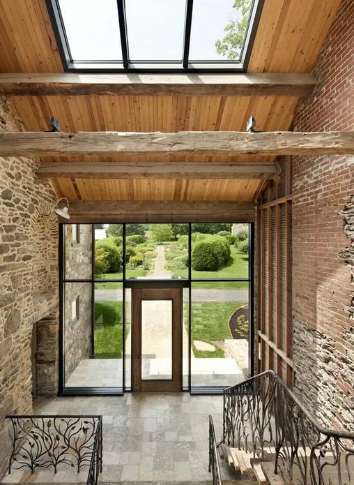 Un faro de ideas casa de campo en filadelfia - Casas de campo restauradas ...