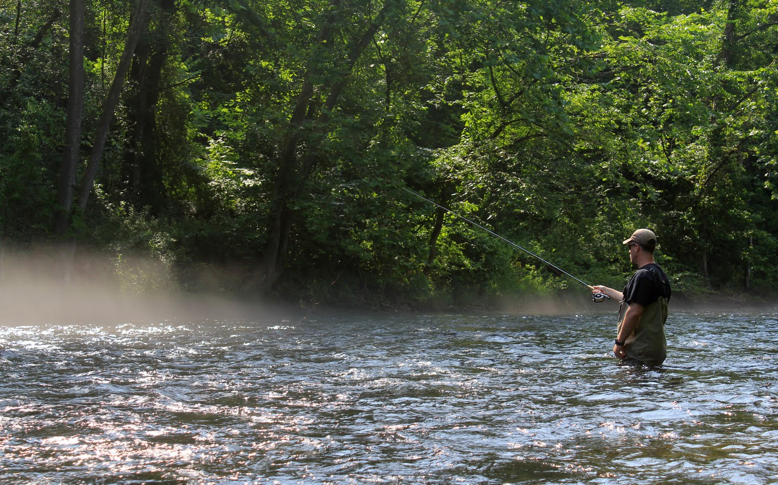 The connecticut yankee brotherly love for Farmington river fly fishing