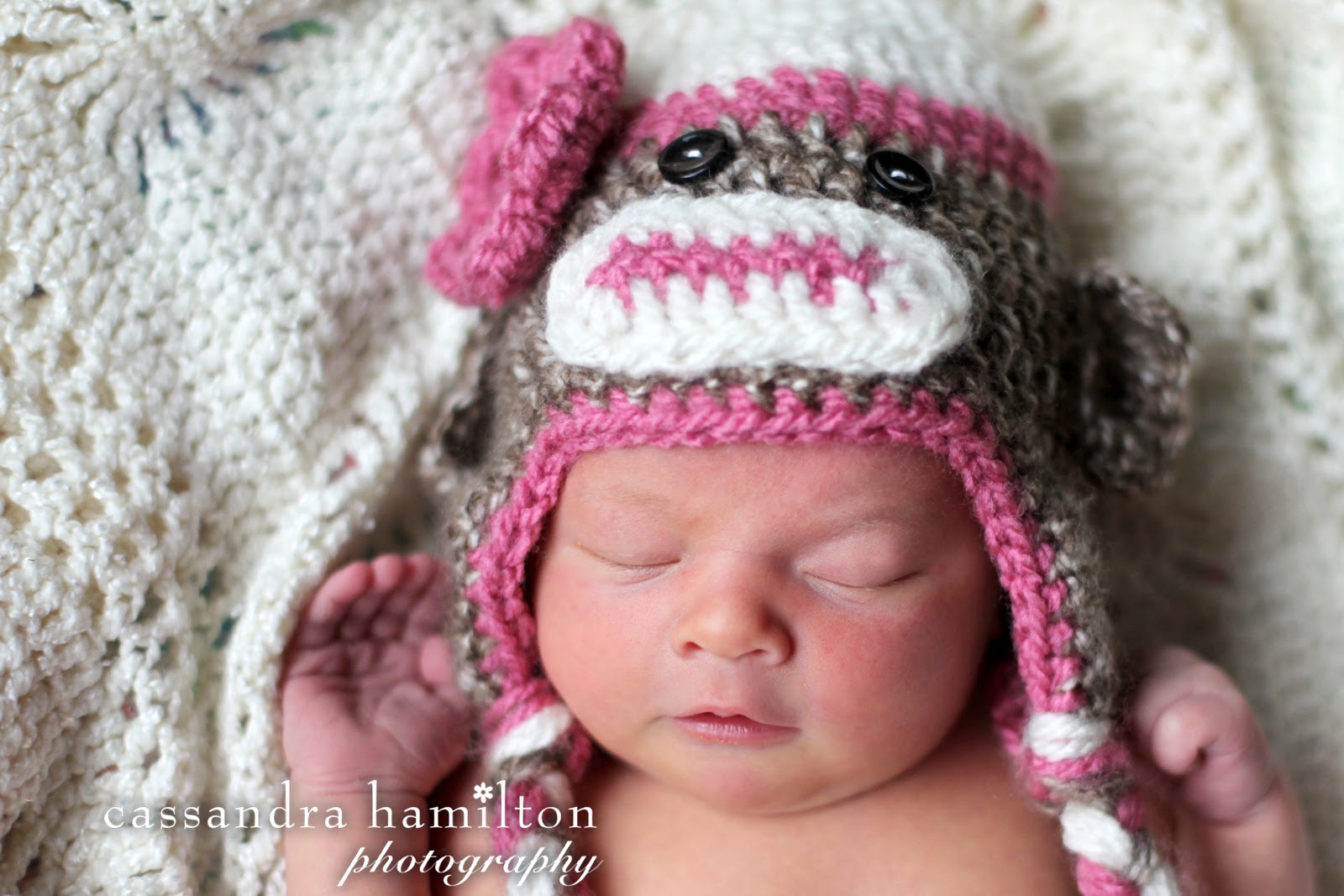 Free Crochet Patterns Monkey Hat : The Sequin Turtle: Free Crocheted Sock Monkey Hat Pattern