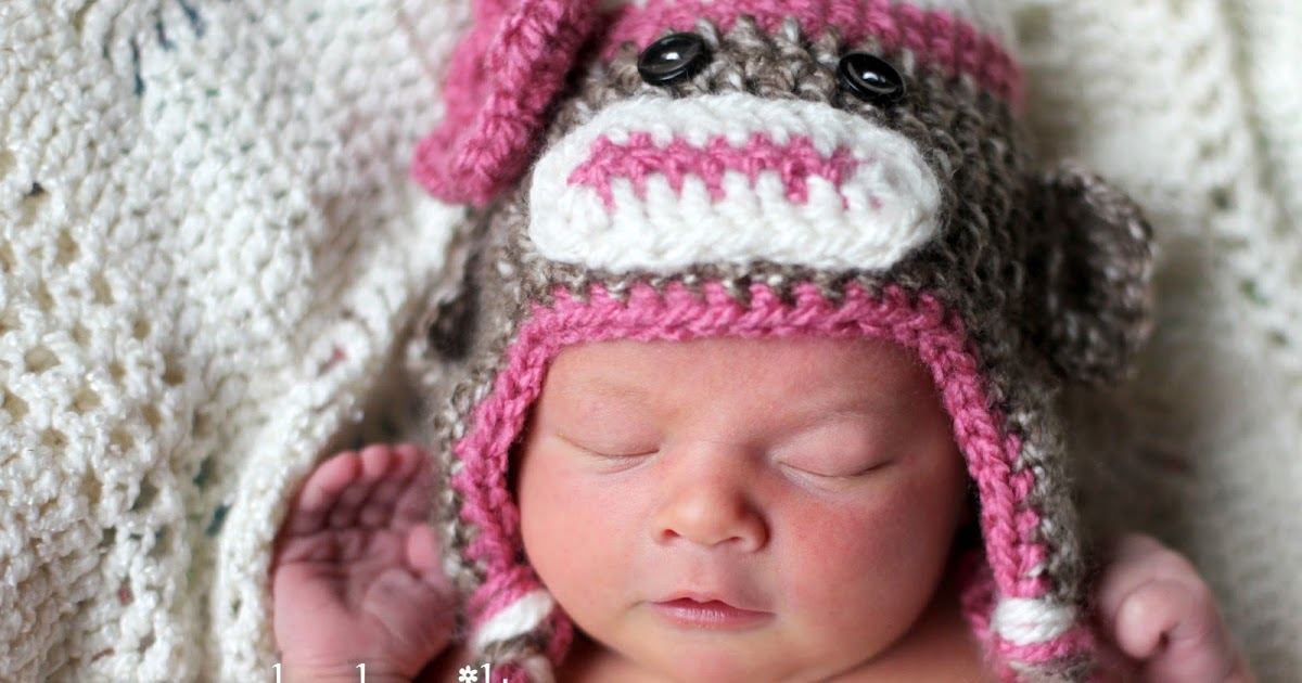 The Sequin Turtle Free Crocheted Sock Monkey Hat Pattern
