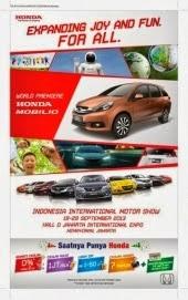 Honda Raih Penjualan 6.868 Unit