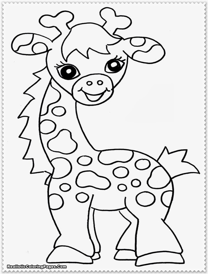safari animals coloring pages - photo#4