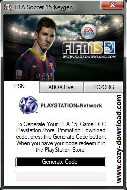 FIFA 15 Keygen PS