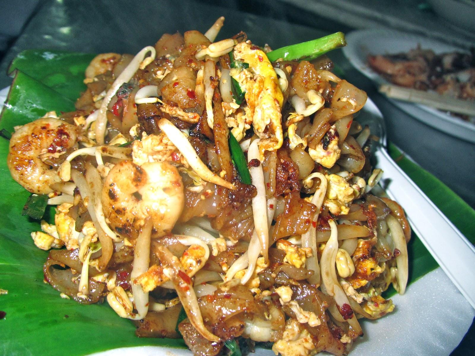 char kuey teow Malaysian food