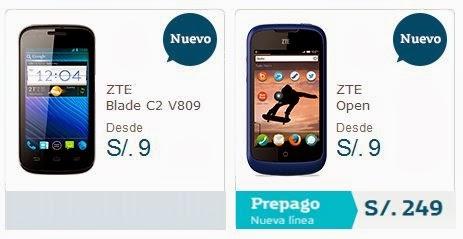 smartphones come zte open c2 June