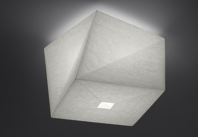 Arcfly a sculpture of shadow and light in ei lamp by for Artemide issey miyake