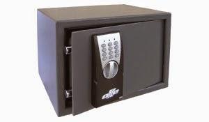 Caja fuerte electrónica con llave de emergencia Olle