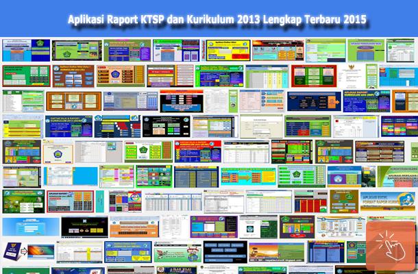 Aplikasi Raport KTSP dan Kurikulum 2013 Lengkap Terbaru 2015