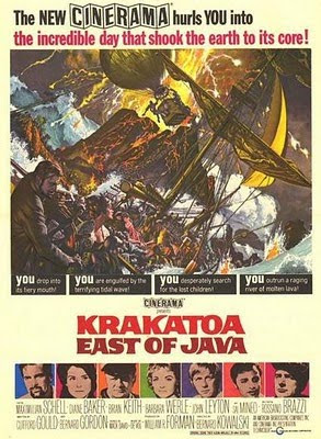 krakatoa east of java movie poster