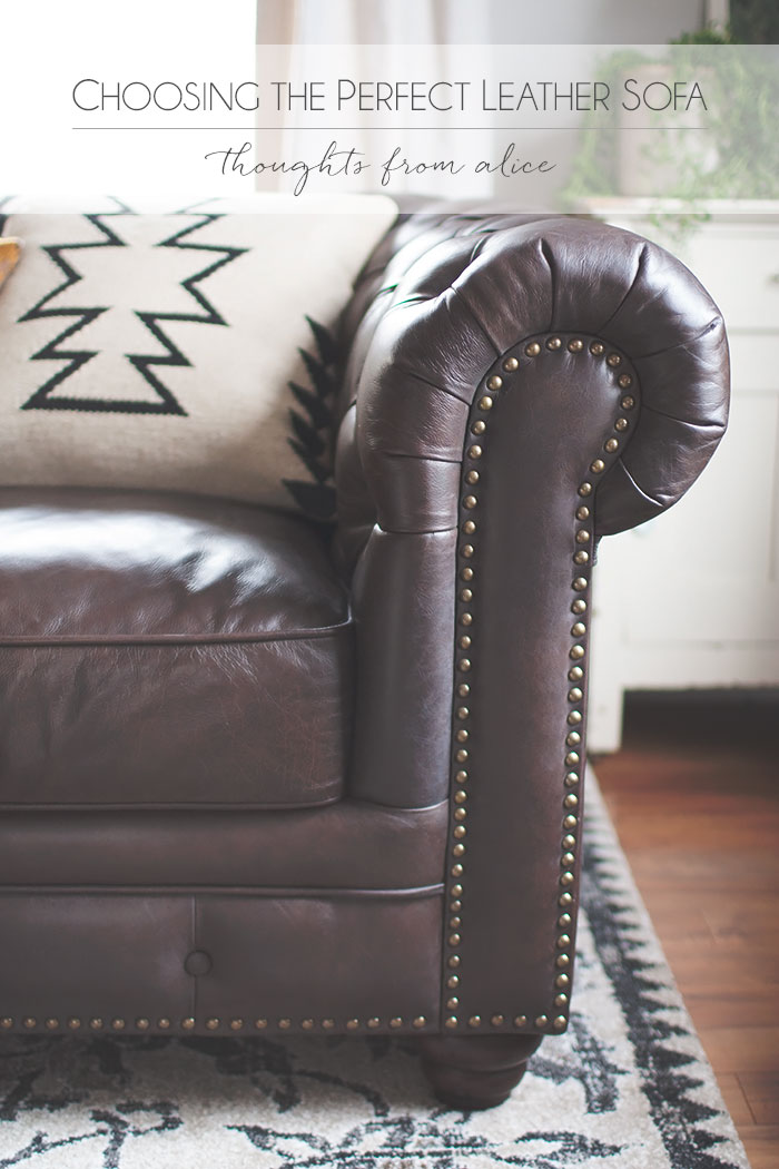 Perfect Choosing The Perfect Leather Sofa {and A Date Night At Raymour U0026 Flanigan}