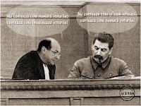 Funny image Traian Basescu Iosif Vissarionovici Stalin