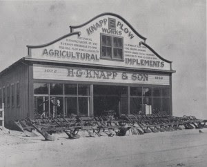 Knapp Plow Works, S. First Street San Jose cir. 1907