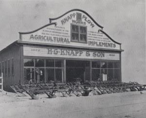 Knapp Plow Works, S. First Street San Jose cir. 1907