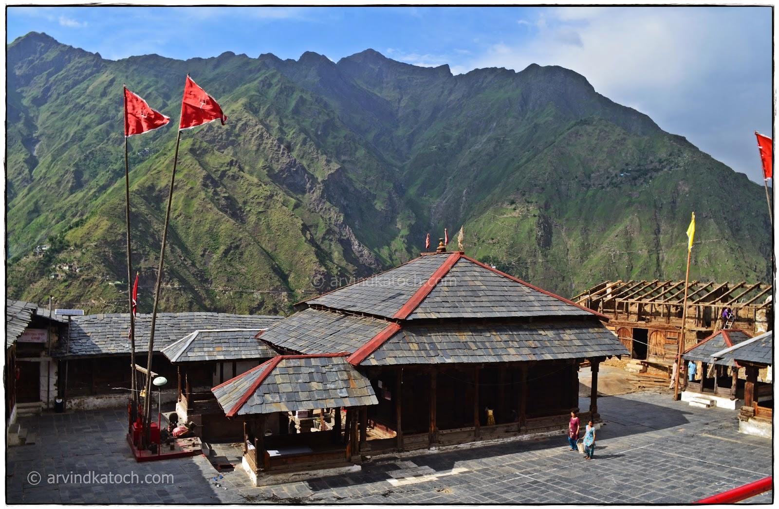 Shakti Devi Temple, Chhatrari, Chamba, wooden Temple