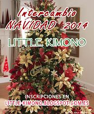 INTERCAMBIO DE NAVIDAD LITTLE KIMONO KIMONO