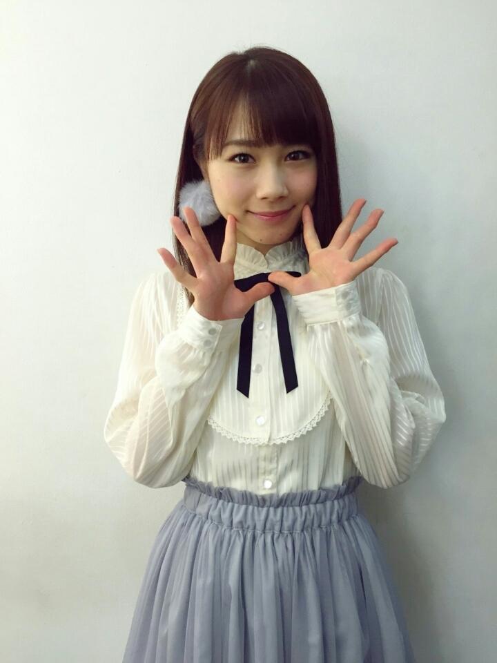 バースデーイベントでの石田亜佑美の衣装の画像