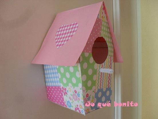 DIY: Tutorial para fabricar tu propias casitas de pájaros con papel