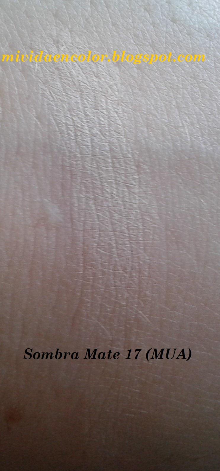 haul-reseña-opinión-swatch-blog-belleza-maquillaje-sombraMate-17-de MUA- clon sombra Foxy-de-la-Naked-2-de-Urban-Decay-U.D-