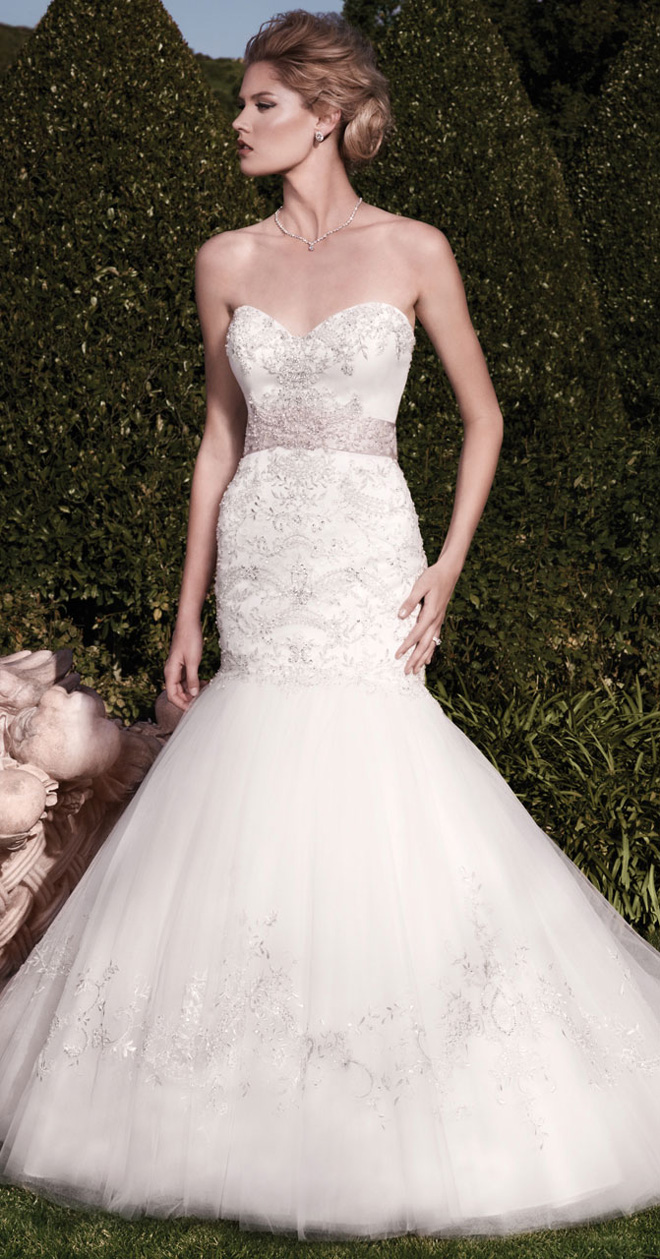 casablanca wedding dresses collection