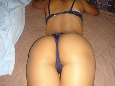 Amateur Asian Ass In A Thong
