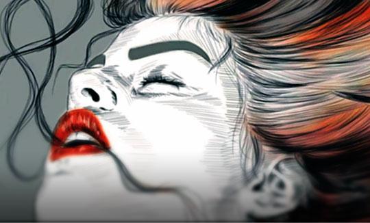 Ilustración, Demon de Dhaniela Romero