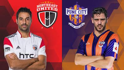 ISL 2017 Match 7; FC Pune City Vs NorthEast United FC Live