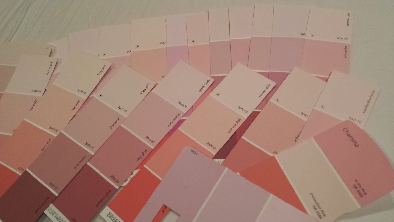 obsessing over all things beautiful pale pink paint