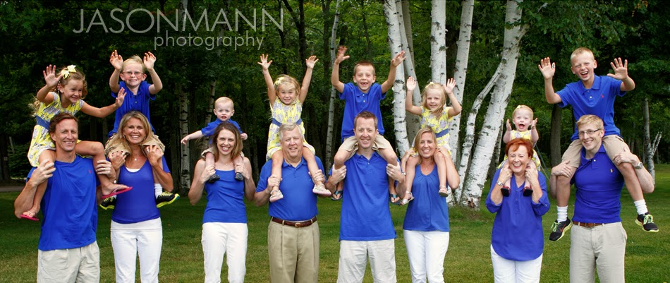 Door County Family Portraits, Large Family