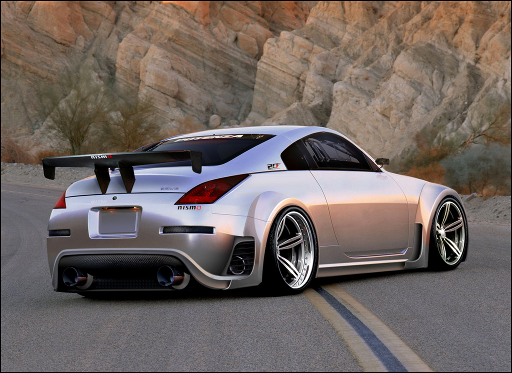 2011 Nissan 350z Mainstream Sport Car Blackcarracing