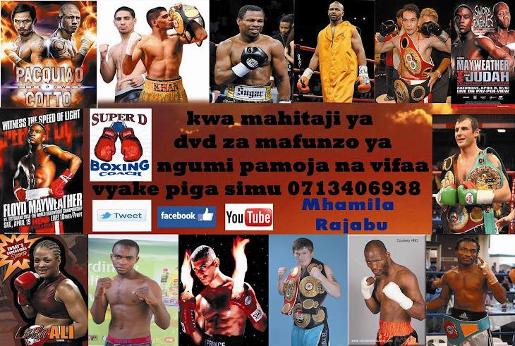 KWA MAHITAJI YA DVD ZA MASUMBWI