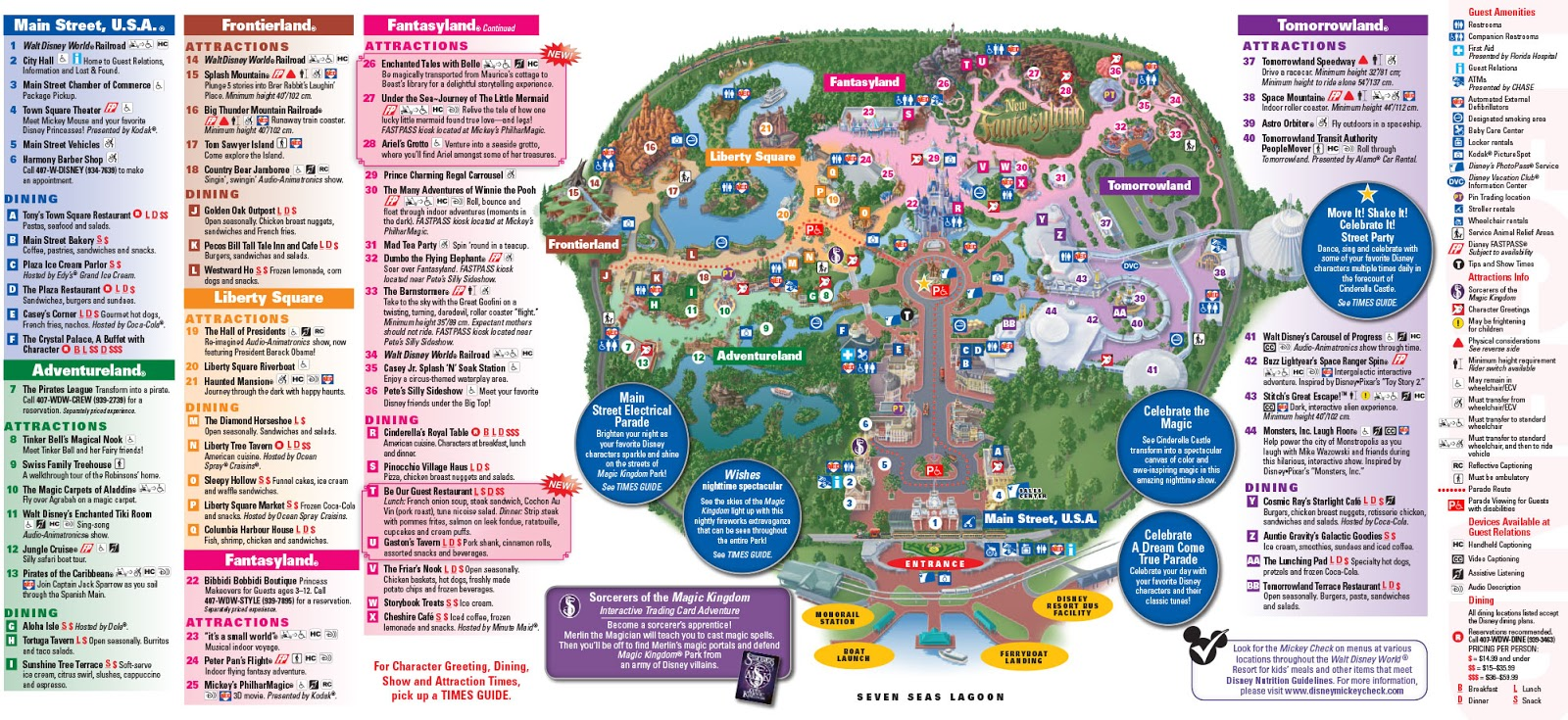 Parkscope the new walt disney world guide maps magic kingdom november 2012 click for larger version gumiabroncs Gallery