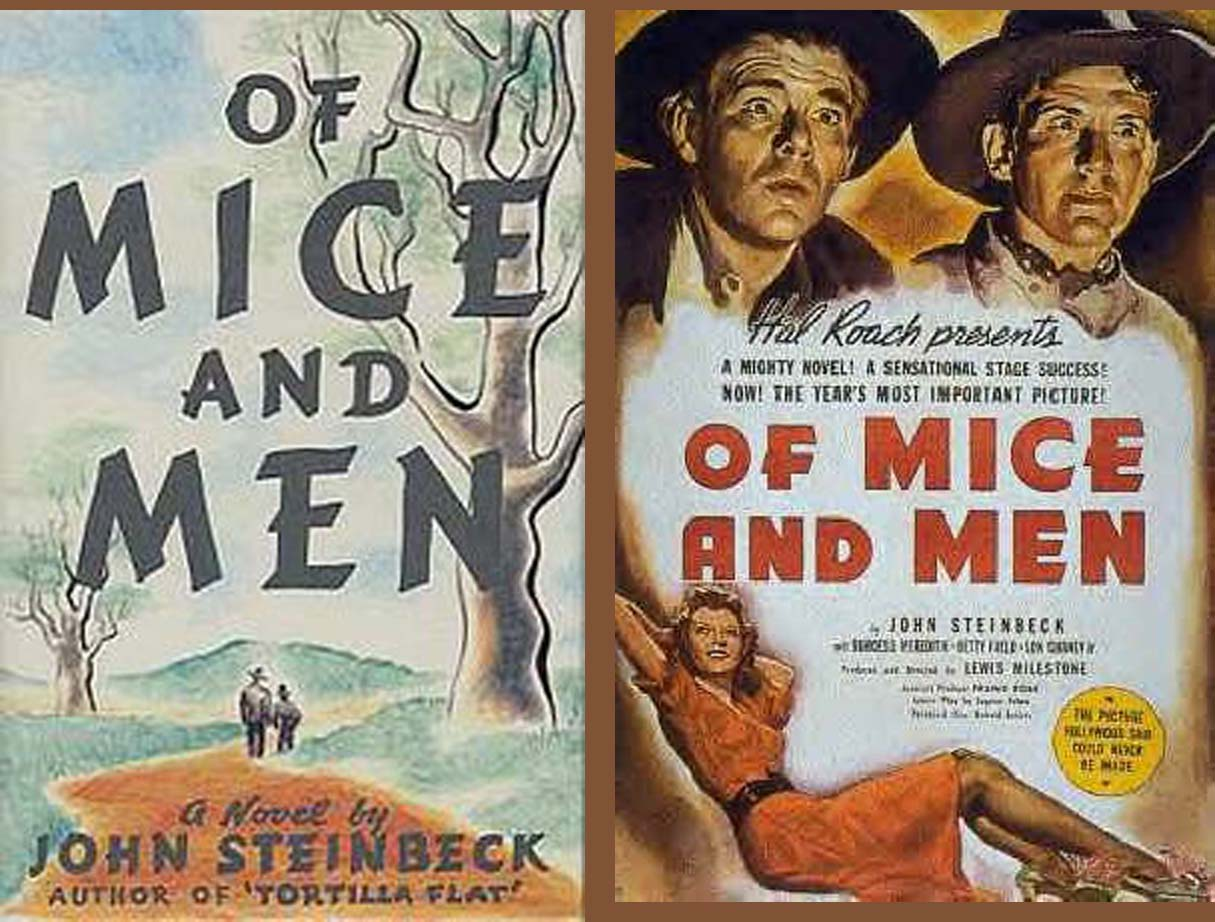 "an analysis of of mice and men by steinbeck About ""of mice and men: chapter 3"" a classic 1937 novella by nobel prize-winning author john steinbeck, of mice and men."
