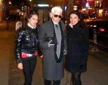 I met Karl Lagerfeld! / Karl Lagerfeld ile tantm!!!